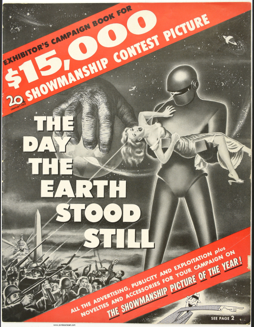 Day the Earth Stood Still Pressbook 001