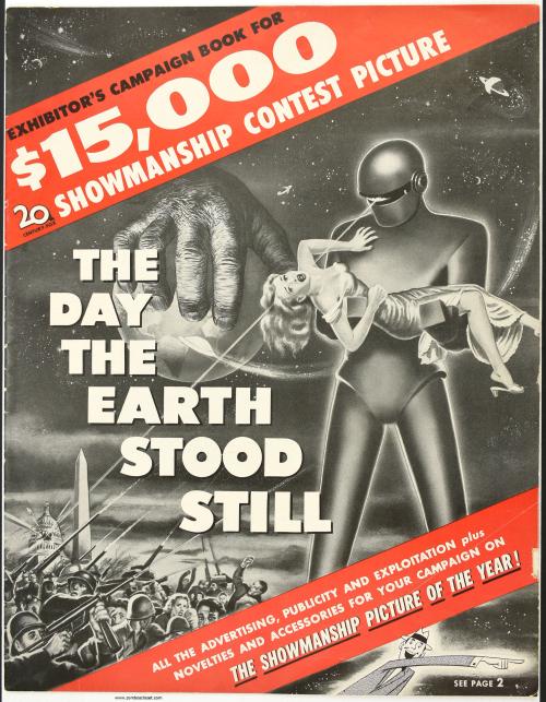 Day the Earth Stood Still Pressbook 001