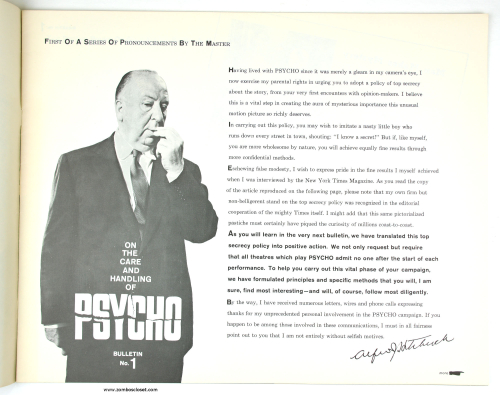 Care and Handling of Psycho 001