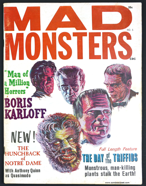 Mad Monsters Magazine 00001