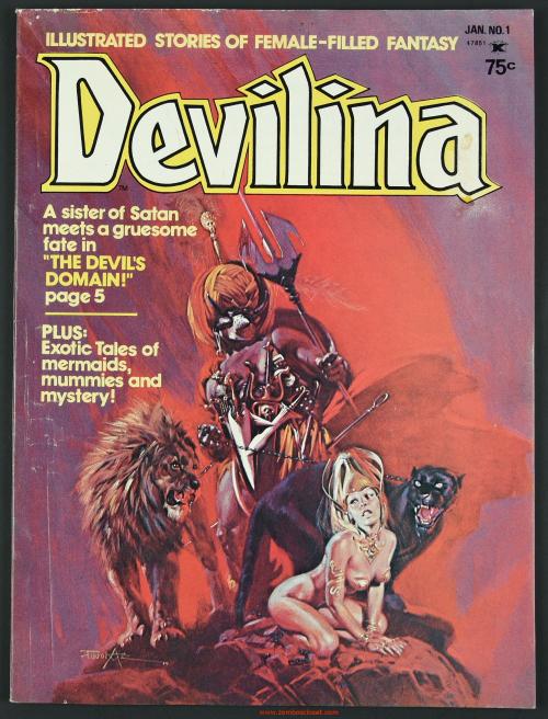 Devilina Issue 1 01