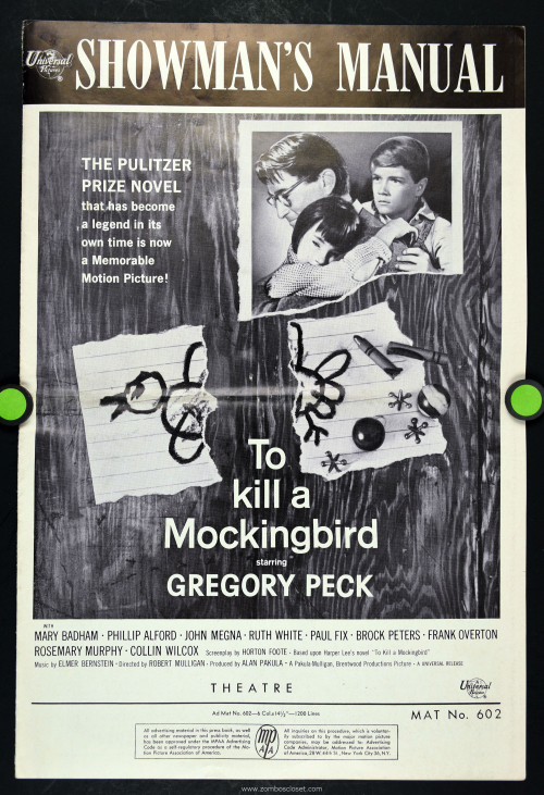 To Kill a Mockingbird Pressbook  001