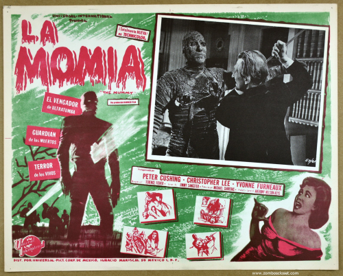 The Mummy mexican lobby card 1