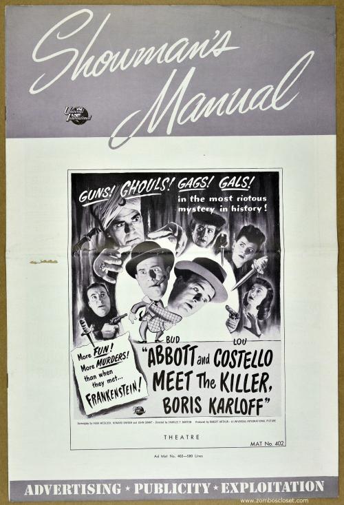 Abott and Costello Meet the Killer 001