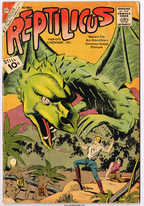 Reptilicus Comic Issue 2