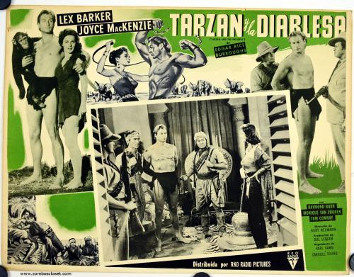 Tarzan lobby card