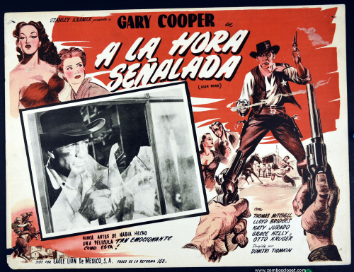 High Noon Mexican Lobby Card