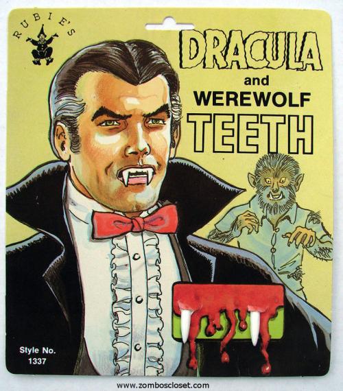 Dracula Halloween Teeth