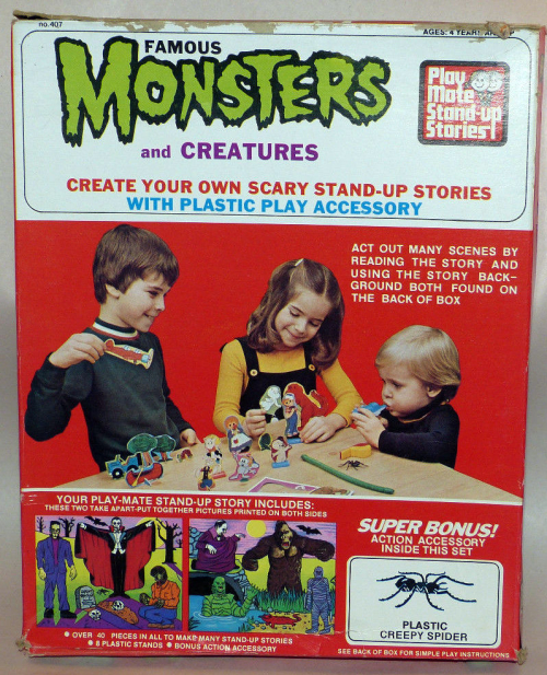 Famous monsters and creatures playset 1