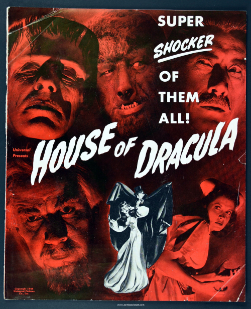 House of Dracula Pressbook 001