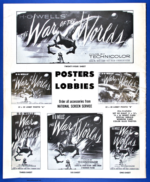 War of the Worlds Pressbook14