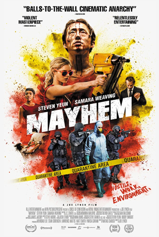 Mayhem movie poster