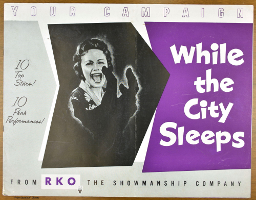 While the City Sleeps Pressbook 01
