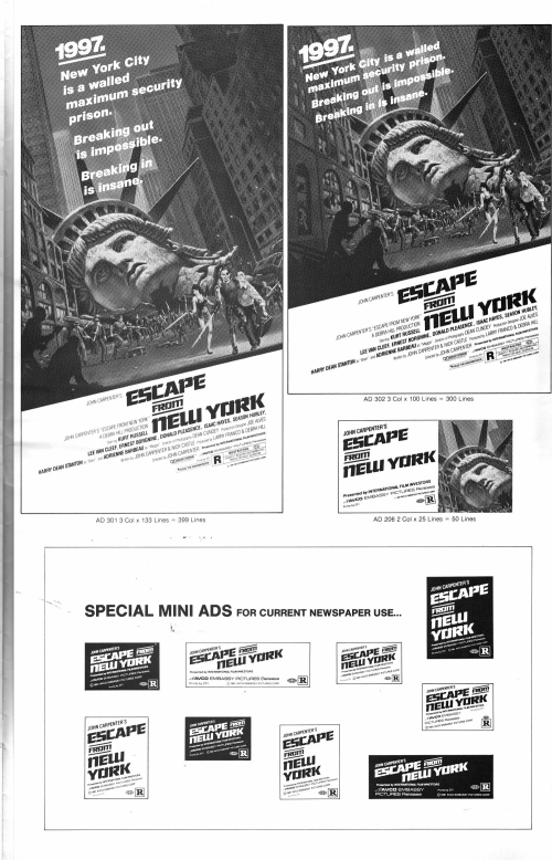Escape from New York Pressbook_000001