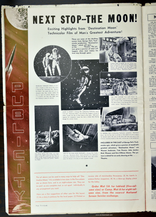 Destination Moon Pressbook 21