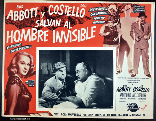 Abott and costello invisible man