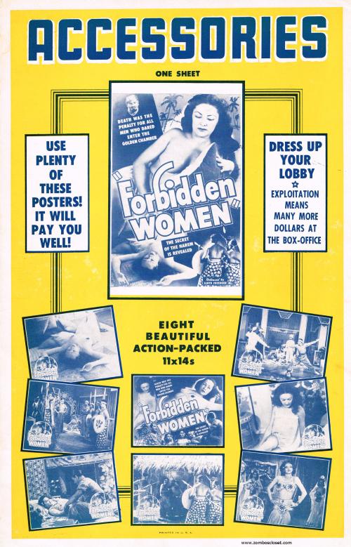 Forbidden Women Pressbook01