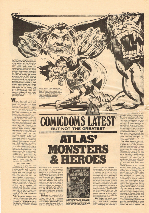 The Monster Times Issue 45