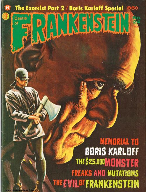 Castle of Frankenstein Issue 24