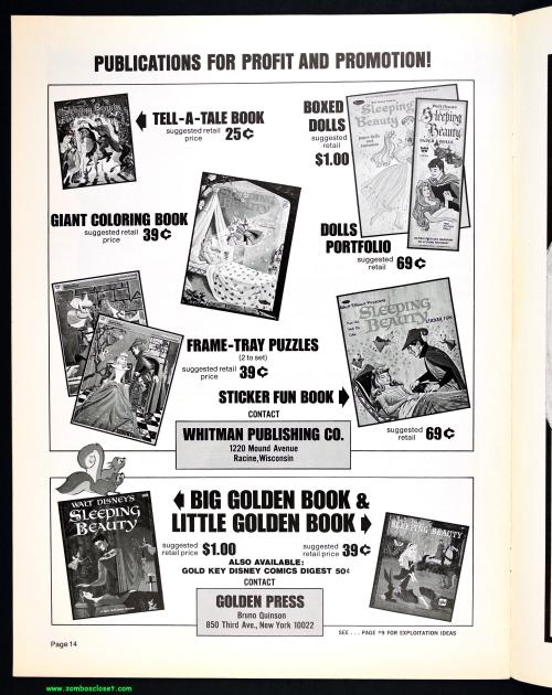 Sleeping Beauty Pressbook 00009