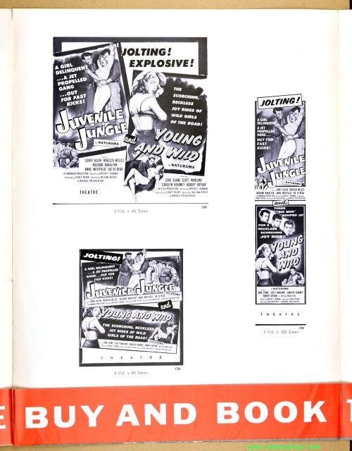Juvenile Jungle Double Bill Pressbook 01