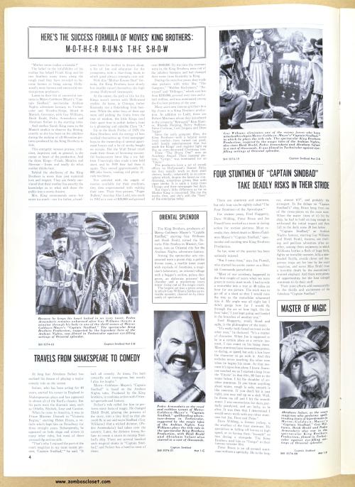 Captain Sinbad Pressbook 01