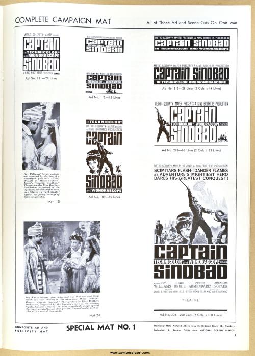 Captain Sinbad Pressbook 08