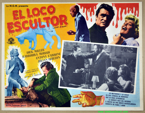 A bucket of blood lobby card