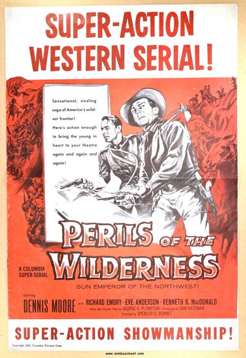 Perils of the Wilderness pressbook 01