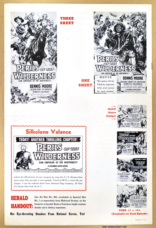 Perils of the Wilderness pressbook 08