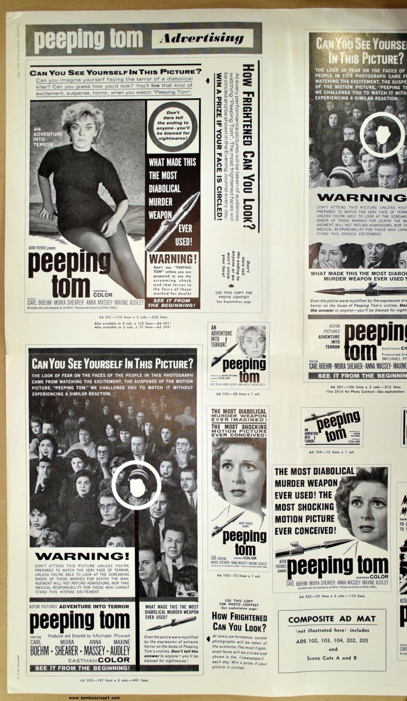 Peeping Tom Pressbook 01