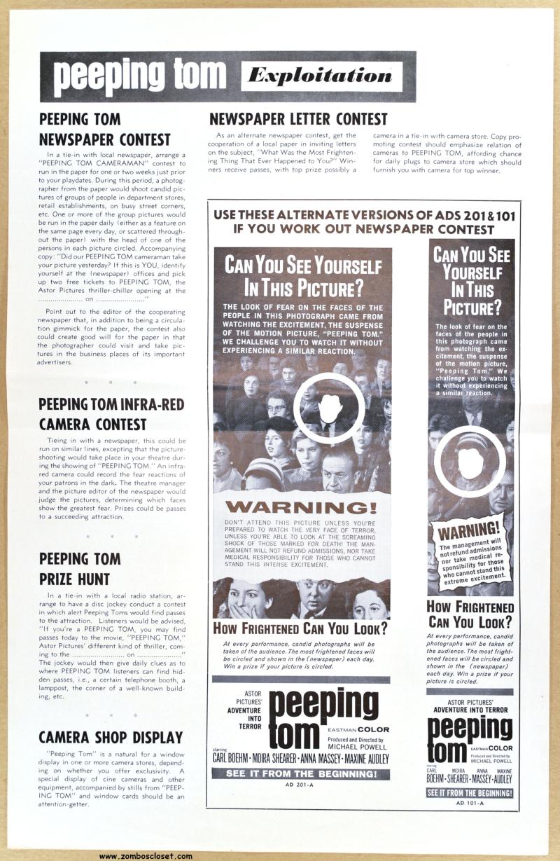 Peeping tom pressbook 200