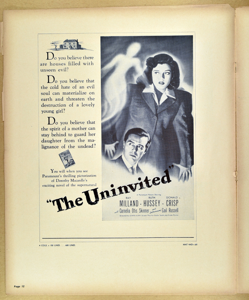 The Uninvited Pressbook 07