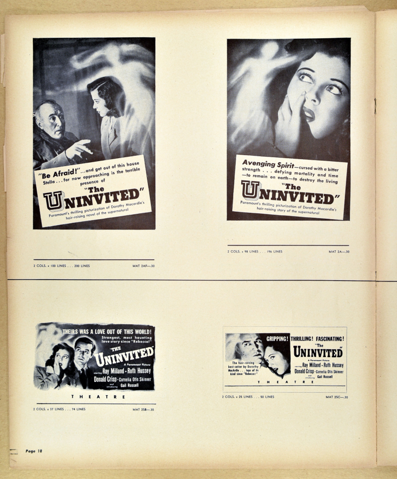 The Uninvited Pressbook 13