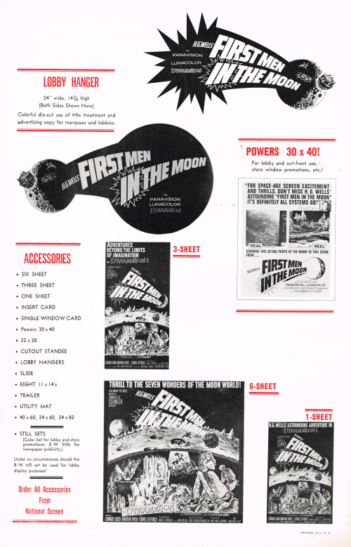 First Men in the Moon Pressbook 00