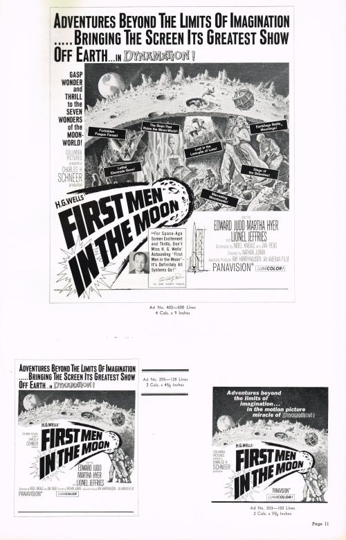 First Men in the Moon Pressbook 08