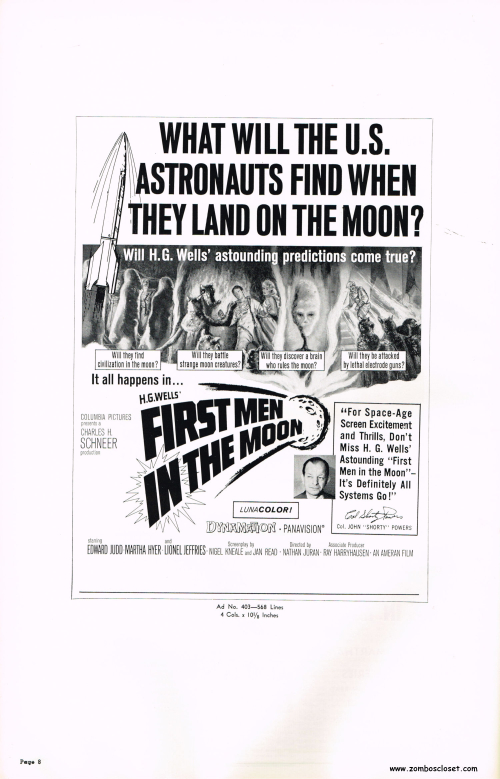 First Men in the Moon Pressbook 08