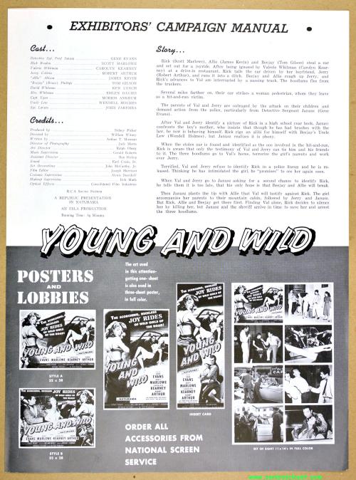 Juvenile Jungle Double Bill Pressbook 08