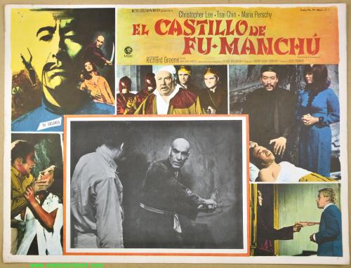 Castle of fu manchu lobby card 02