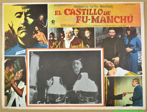 Castle of fu manchu lobby card 02