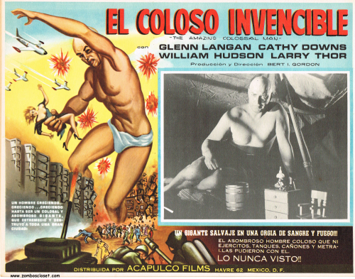 Amazing Colossal Man Mexican Lobby Card_0001