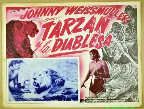 Tarzan lobby card 12