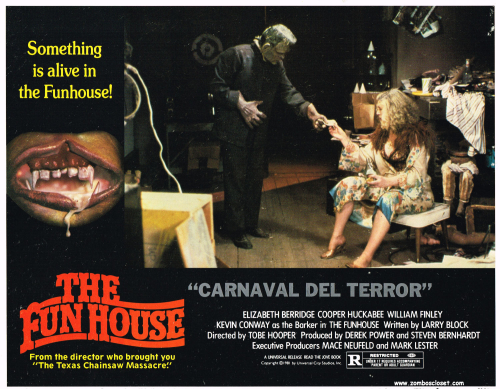 The Fun House lobby card