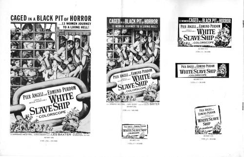 White Slave Ship Pressbook
