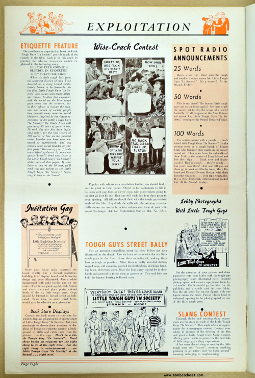 In Society Pressbook 01