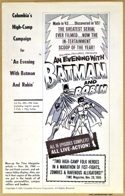 An Evening with Batman 01