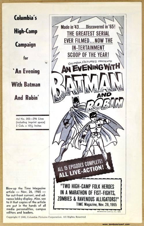 An Evening with Batman 01
