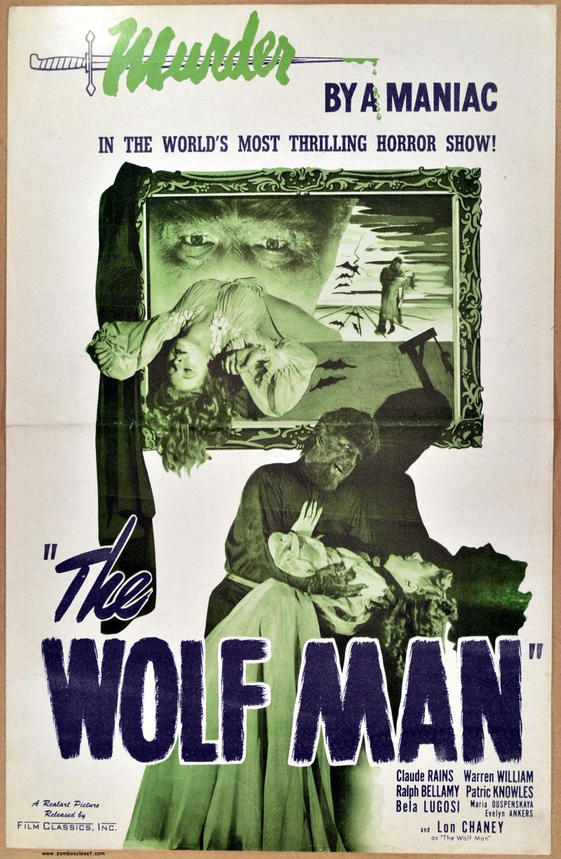 The Wolf Man Realart Pressbook 01