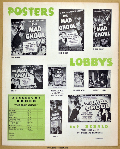 The Mad Ghoul 01