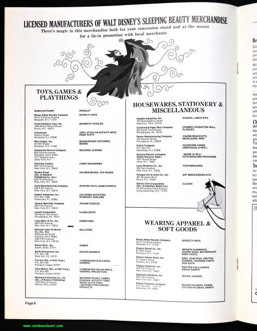 Sleeping Beauty Pressbook 00002